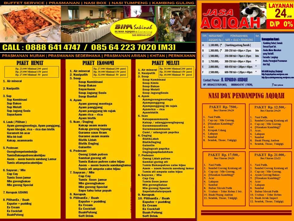 Tag: catering aqiqah di gresik
